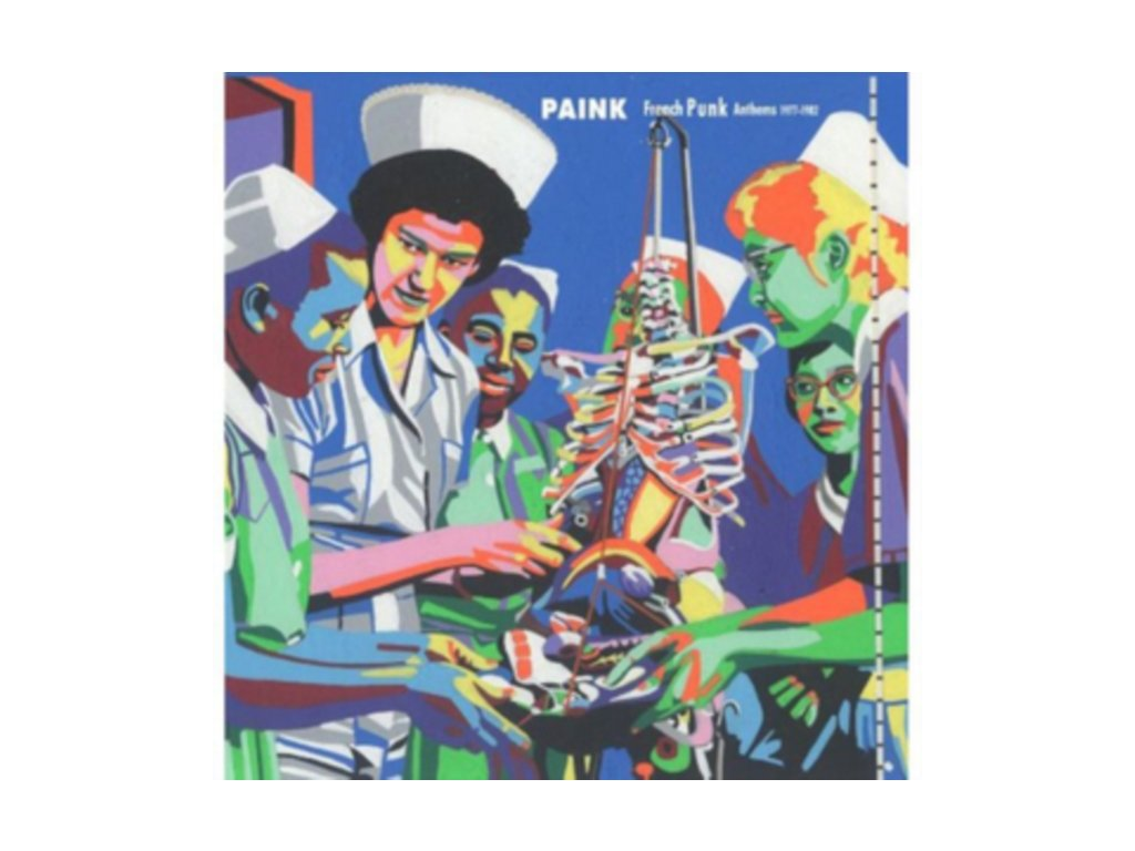 VARIOUS ARTISTS - Paink: French Punk Anthems 1975-1982 (CD)