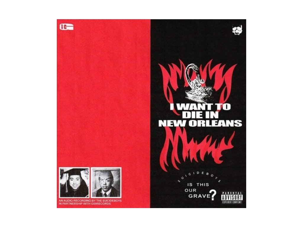 SUICIDEBOYS - I Want To Die In New Orleans (CD)