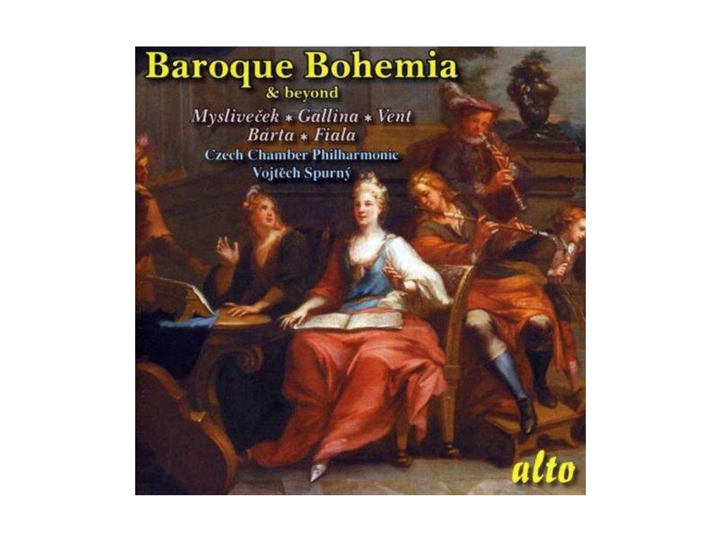 CZECH CHAMBER PHILHARMONIC - Baroque Bohemia: Myslivecek Etc (CD)