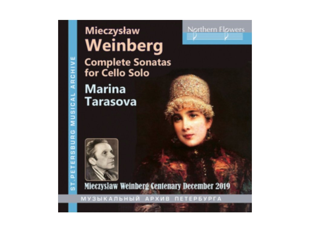 MARINA TARASOVA - Weinberg: Complete Sonatas For Cello Solo (CD)