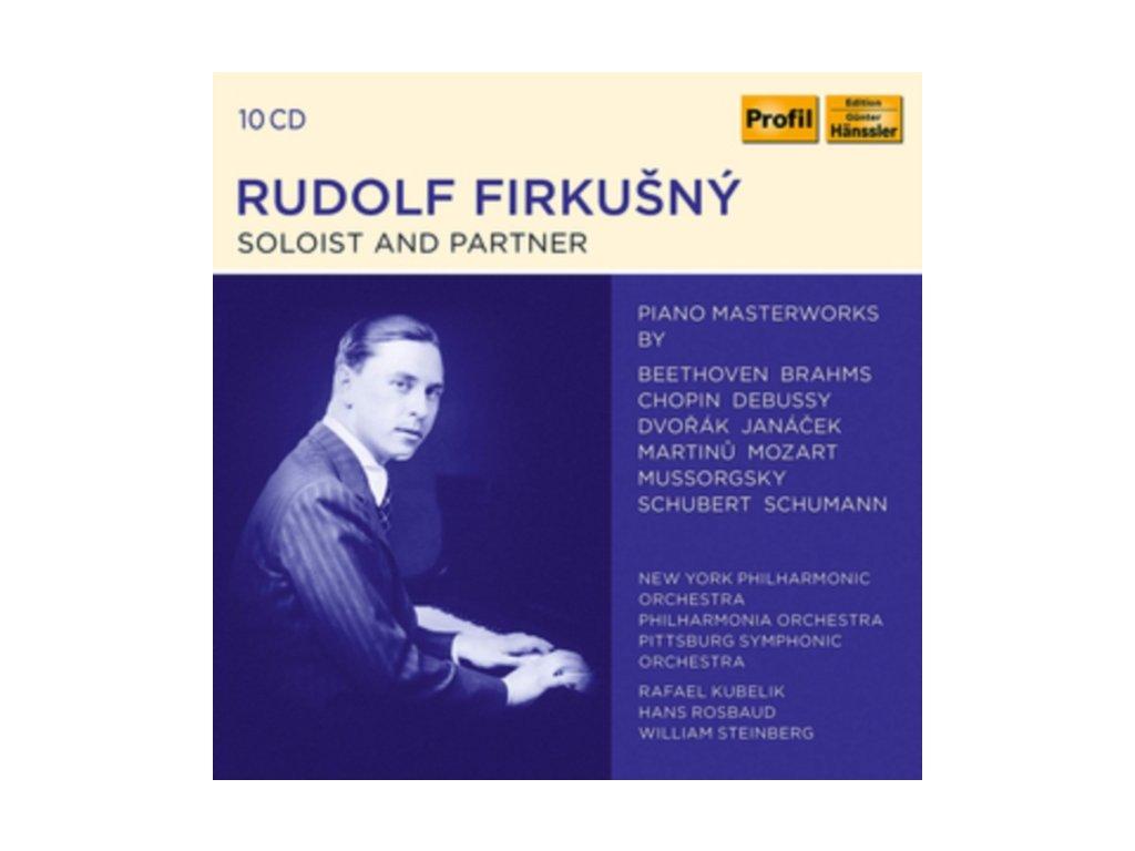 VARIOUS ARTISTS - Rudolf Firkusny - Soloist And Partner (CD Box Set)