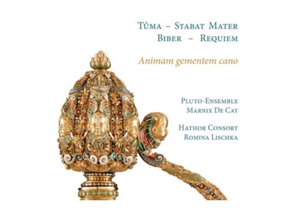 HATHOR CONSORT / ROMINA LISCHKA / MARNIX DE CAT / PLUTO-ENSEMBLE - Animam Gementem Cano. Biber: Requiem - Tuma: Stabat Mater (CD)