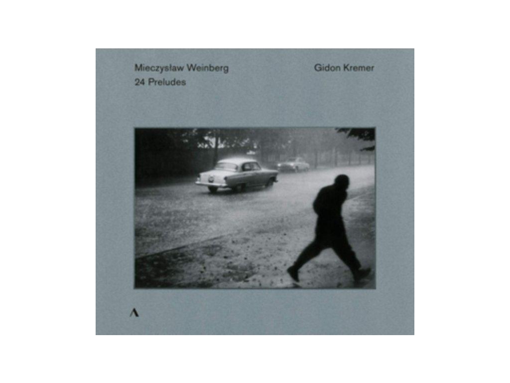 GIDON KREMER - Mieczyslaw Weinberg: 24 Preludes For Violin Solo (CD)