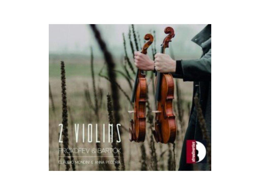 MONDINI / PECORA - 2 Violins: Bartok - Prokofiev (CD)