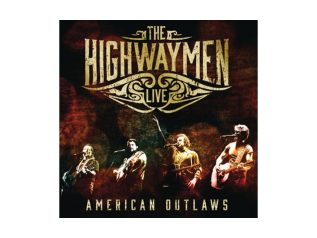 Highwaymen (The) - Live (American Outlaws/Live Recording/+3DVD) (Music CD)