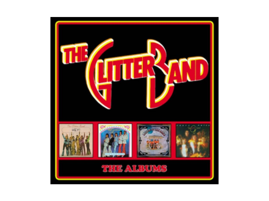 Glitter Band - The Albums Box set  Deluxe Edition
