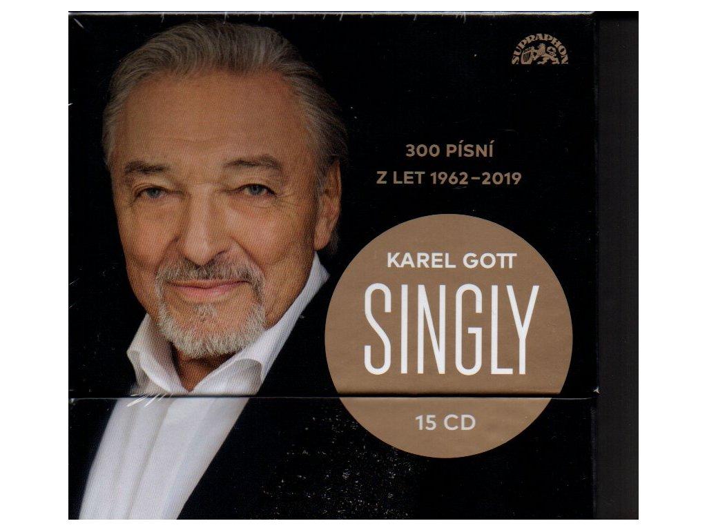 karel gott singly 300 písní z let 1962 2019 15 cd