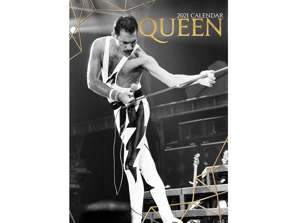 queen kalendář 2021 a3