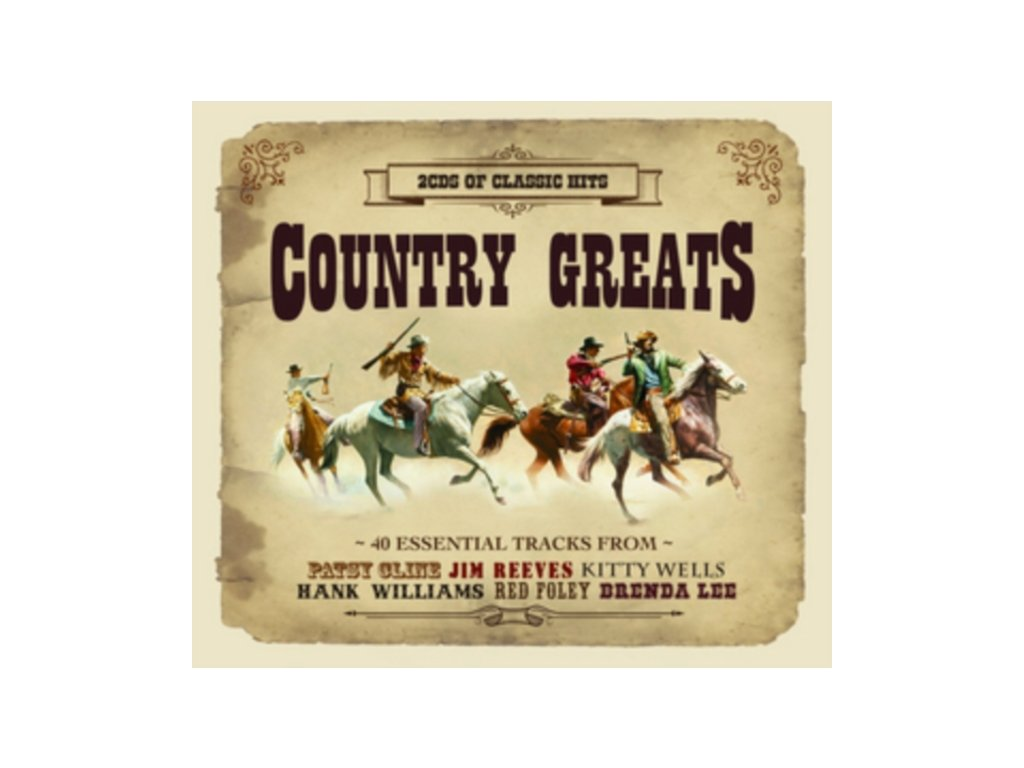 Various - Country Greats (Music CD)
