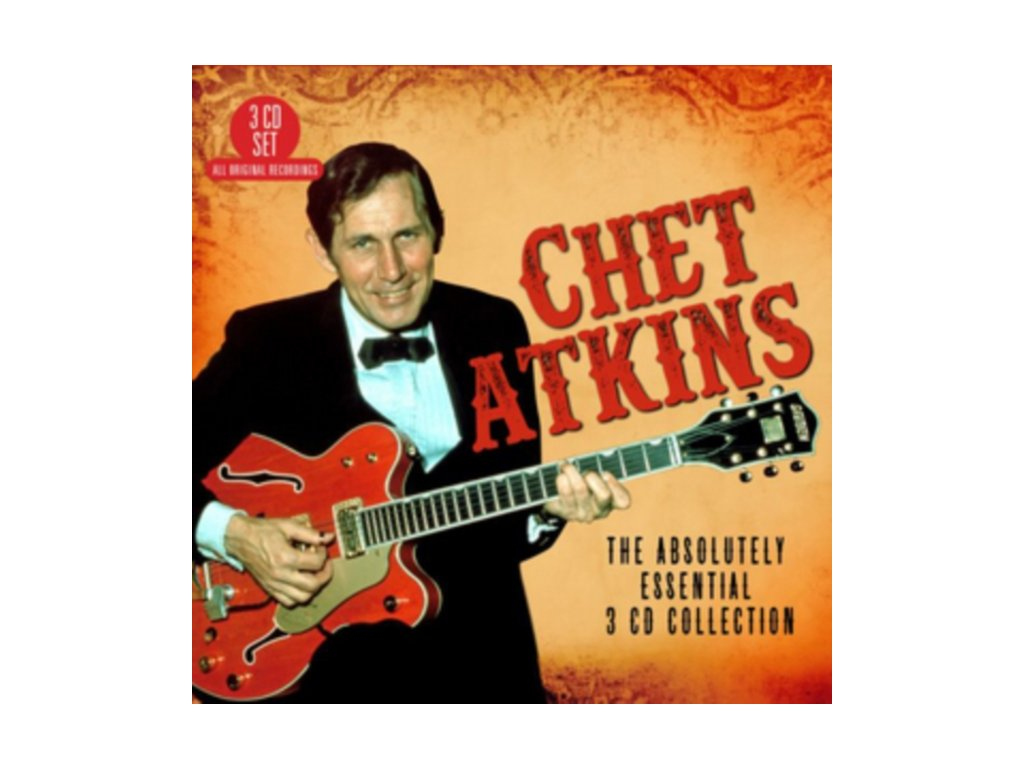 Chet Atkins - Absolutely Essential 3 CD Collection (Music CD)