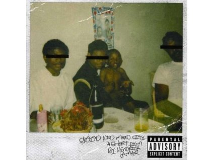 KENDRICK LAMAR - Good Kid Maad City (CD)