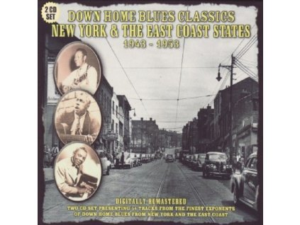 VARIOUS ARTISTS - New York & The East Coast States 1943-53 (CD)