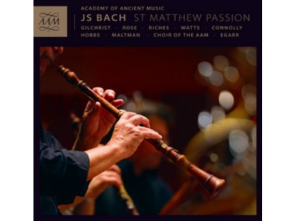 CHOIR OF THE AAMEGARR - Bachst Matthew Passion (CD)