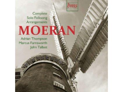 EJ MOERAN - Complete Solo Folksong Arrangements  Adrian Thompson (CD)