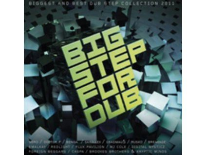 VARIOUS ARTISTS - Big Step For Dub (CD)