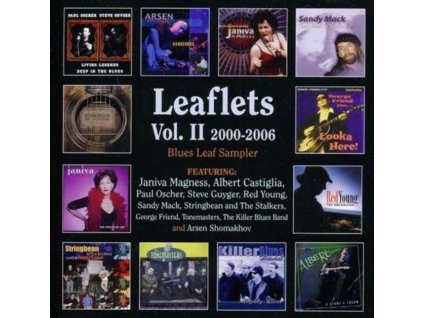 VARIOUS ARTISTS - Vol2-Leaftlets - 2000-2006 (CD)