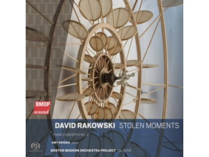 DAVID RAKOWSKI - Stolen Moments - Piano Concerto No. 2 - Amy Briggs / Piano (SACD)
