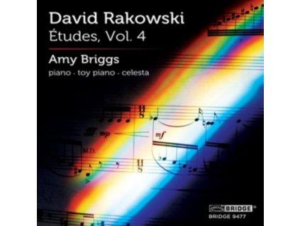 DAVID RAKOWSKI - David Rakowski: Etudes (CD)