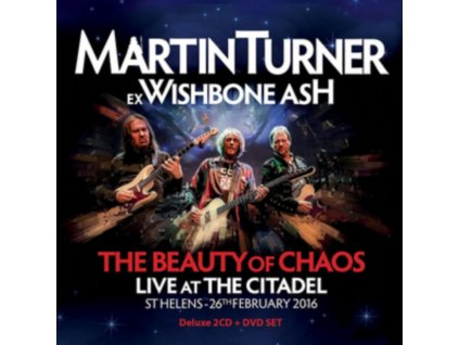 MARTIN TURNER - The Beauty Of Chaos: Live At The Citadel (CD + DVD)