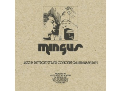 CHARLES MINGUS - Jazz In Detroit / Strata Concert Gallery / 46 Selden (CD)