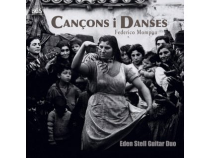 EDEN STELL GUITAR DUO - Cancons I Danses (CD)