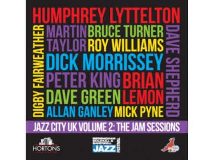 VARIOUS ARTISTS - Jazz City Uk Volume 2: The Jam Sessions (CD)