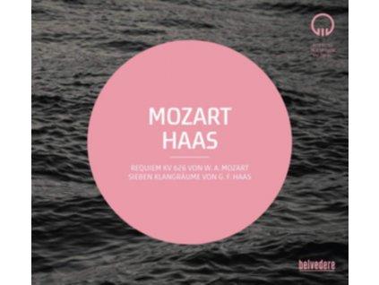 VARIOUS ARTISTS - Mozart: Requiem / Haas: Sieben Klangraume (CD)