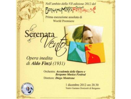 SHIRELLE DASHEVESKY / ACCADEMIA DELLE OPERE E BERGAMO MUSIC FESTIVAL & DIEGO MONTRONE - Aldo Finzi: La Serenata Al Vento (CD + DVD)