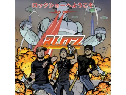 BLITZ - Welcome To The Rock Show (CD)