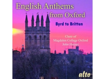 MAGDALEN COLLEGE CHO - English Anthems From Oxford Byrd To Brit (CD)