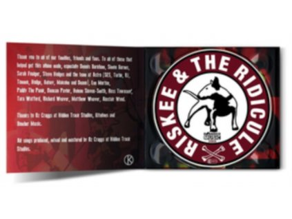 RISKEE & THE RIDICULE - Body Bag Your Scene (CD)
