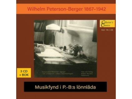 WILHELM PETERSON-BERGER - Musikfynd I P.-B:S Ionnlada (CD + Book)