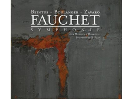 FEELING BRASS QUINTET & FRENCH NATIONAL POLICE BAND - Boulanger / Fauchet: Works For Winds (CD)