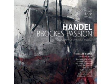 AAM ORCHESTRA / AAM CHOIR - George Handel: Brockes-Passion (CD)