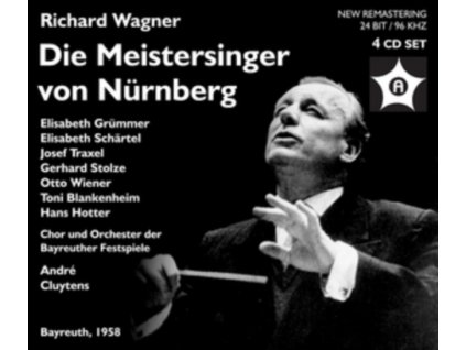 GRUMMER / SCHARTEL / TRAXEL / WIENER / HOTTER / CLUYTENS - Wagner: Die Meistersinger Von Nurnberg (CD)