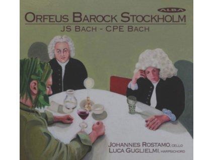 ROSTAMO / GUGLIELMI - J.S. Bach / C. P. E. Bach: Orfeus Barock Stockholm (CD)