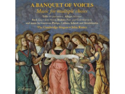 CAMBRIDGE SINGERS / RUTTER - A Banquet Of Voices: Music For Multiple Choirs (CD)