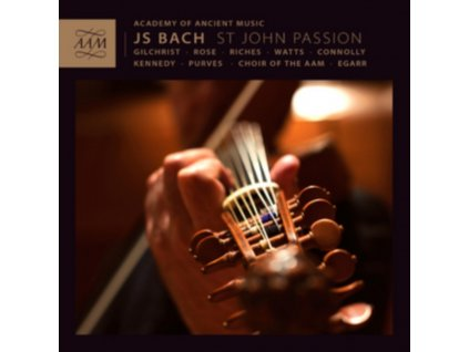 AAMEGARR - Bachst John Passion (CD)