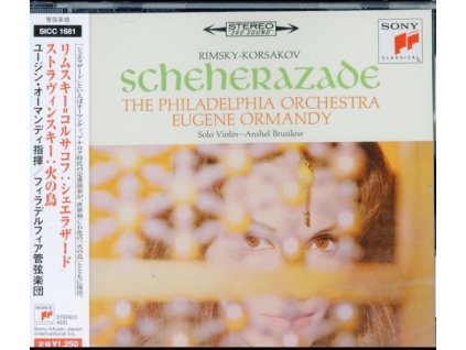 EUGENE ORMANDY - Rimsky-Korsakov: Sheherazade &Insky: The Firebird (CD)