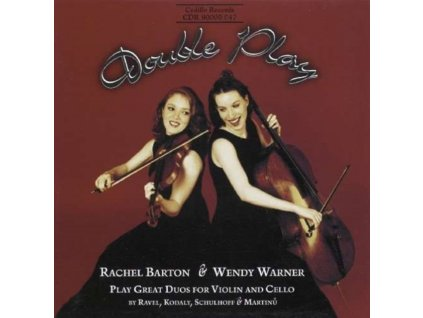 RACHEL BARTON & WENDY WARNER - Double Play Duos For Violin Cello (CD)