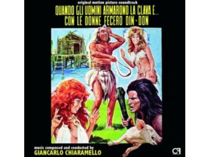 GIANCARLO CHIARAMELLO - Quando Gli Uomini Armarono La Clava E... (+12 Page Booklet) (CD)