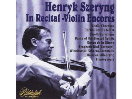 HENRYK SZERYNG / VARIOUS ARTISTS - Henryk Szeryng: In Recital: Violin Encores (CD)
