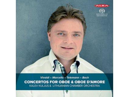 VIVALDI / MARCELLO / TELEMANN / J.S.BACH - Concertos For Oboe & Oboe DAmore - Kalev Kuljus (SACD)