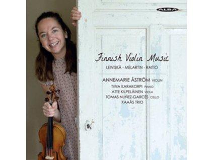 LEIVISKA / MELARTIN / RAITIO - Finnish Violin Music - Anne Astrom (Violin) (CD)