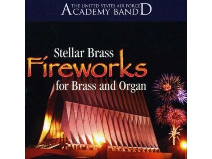 US AIR FORCE ACADEMY BAND - Stellar Brass And Organ (CD)