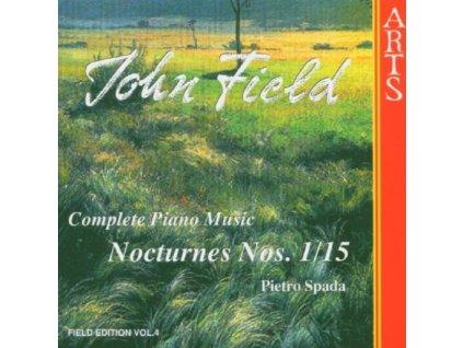 PIETRO SPADA - Field/Complete Piano Music - Vol 4 (CD)