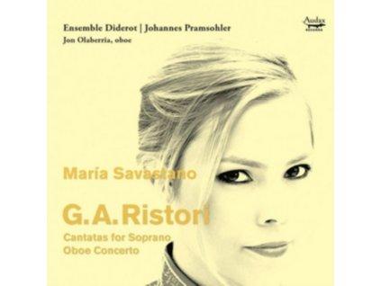 ENSEMBLE DIDEROT / JOHANNES PRAMSOHLER / MARIA SAVASTANO - G.A. Ristori: Cantatas For Soprano / Oboe Concerto (CD)
