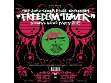 JON SPENCER BLUES EXPLOSION - Freedom Tower - No Wave Dance Party 2015 (CD)