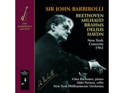 NEW YORK PO/BARBIROLLI - New York Concerts 1962 (CD)