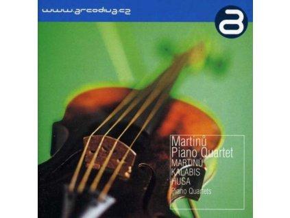 MARTINNUKALABISHUSA - Martinu Piano Quartet (CD)